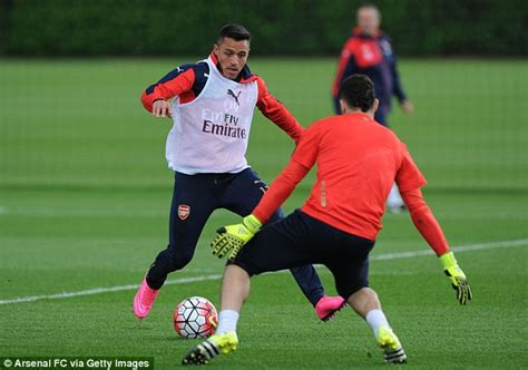 alexis sanchez david ospina arsenal look to bounce back from chions league defeat