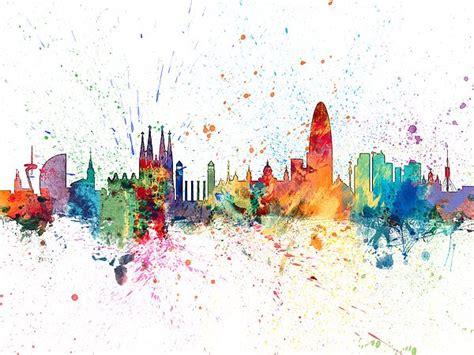 watercolor tattoo barcelona 25 best ideas about paint splash on identity