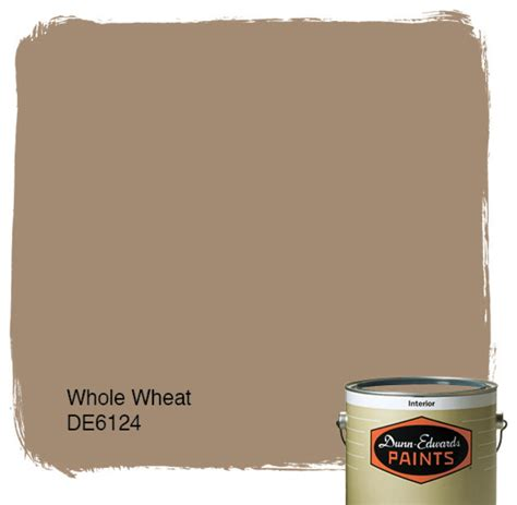 dunn edwards paints whole wheat de6124