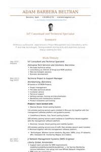 Behavioral Specialist Consultant Sle Resume by Technical Specialist Resume Sles Visualcv Resume Sles Database