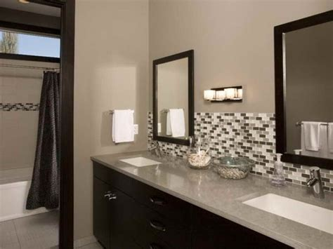 Tile Backsplash Ideas Bathroom Bathroom Choosing Bathroom Backsplash For Beautify Bathroom Bathroom Glass Tile Backsplash
