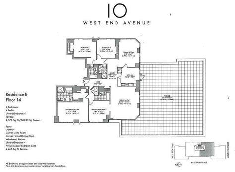west 10 apartments floor plans 10 west end avenue upper west side manhattan scout