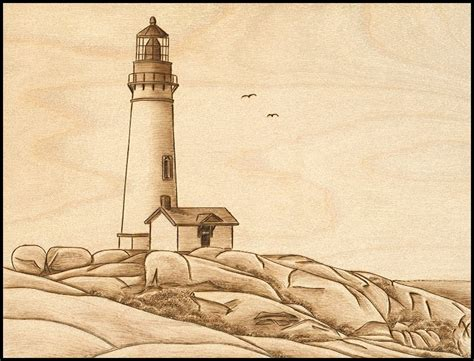 lighthouse patterns woodworking free pyrography patterns
