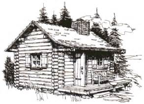 Cabin Drawings Drawings Of Old Log Cabins For Pinterest