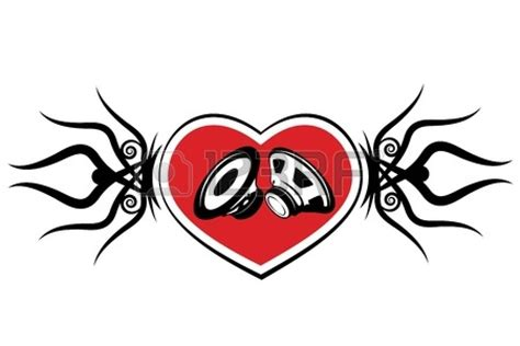 tattoo background information heart and spea clipart panda free clipart images