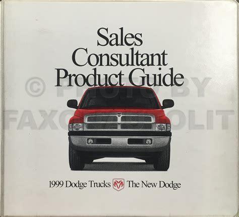 free car manuals to download 1999 dodge dakota navigation system 1999 dodge dakota pickup truck original owner s manual