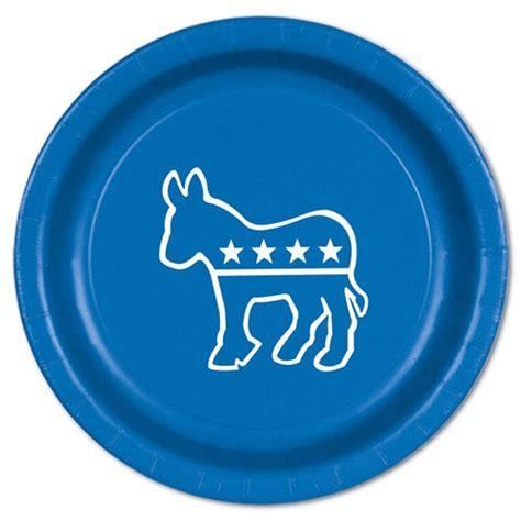 what is a blue democrat blue democratic plates 8 pkg partycheap