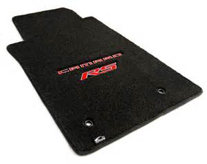 Camaro Floor Mats Camaro Custom Fit Logo Floor Mats