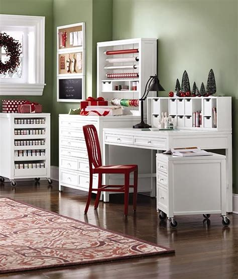 martha stewart craft room ideas martha stewart living craft space gift wrap hutch