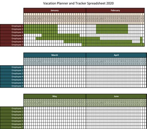 vacation template excel 5 best vacation tracking templates to track your vacations