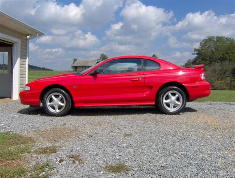 1994 Mustang Gt Auto Quarter Mile by 0 60 Times 1994 Ford Mustang