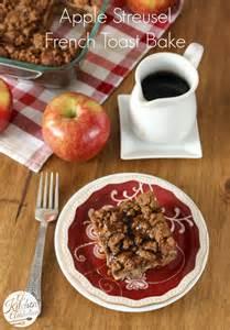 apple streusel toast bake a kitchen addiction