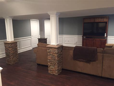 basement wrap stylish basement column idea creative columns