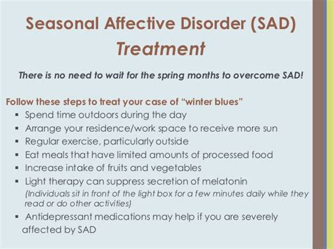 seasonal affective disorder light therapy coping with seasonal affective disorder a k a winter blues