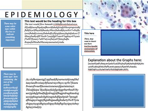 informational poster template samples instructional