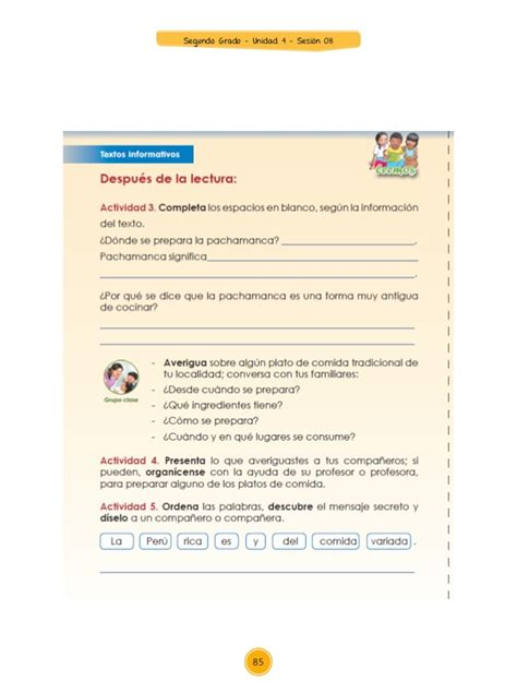 guia montenegro cuarto grado contestada guia montenegro segundo grado de primaria gratis ensayos