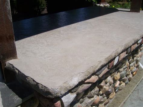 Cement Bar Top by Bontrager Construction Llc Concrete Counter Tops