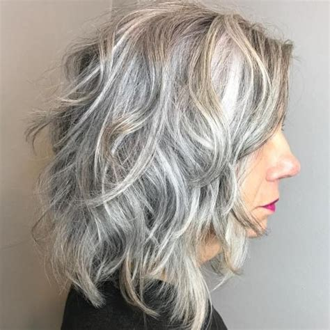grey curly shag style haircut 60 best hairstyles and haircuts for women over 60 to suit