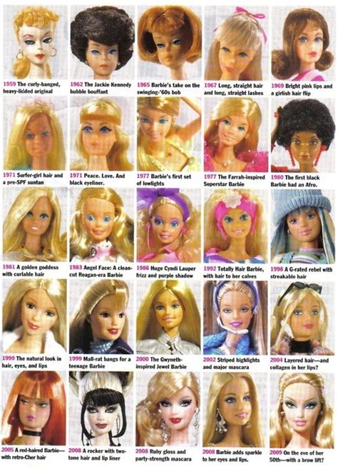 hair styles over the decades what happened on march 9th meet barbie if i only had a