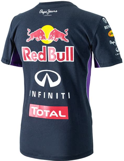 Oceanseven F1 Racing 58 T Shirt by Authentic Pepe Infiniti Bull Racing F1 Team 2014