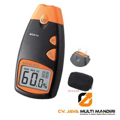 Ukur Kelembaban Material Kayu Digital 4 Pin Moisture Meter Tester alat ukur kelembaban kayu amtast md914 amtast indonesia