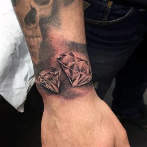 fantastic wrist diamond tattoos