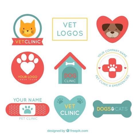 Logos De Cl 237 Nica Veterinaria Descargar Vectores Gratis Veterinarian Badge Template