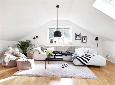 home living space 30 attic living room ideas adorable home