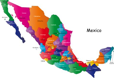 map of united states and mexico with cities let s all go to the united states of mexico a