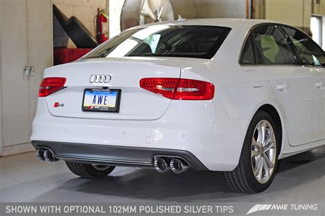 Audi S4 B8 5 Tuning by Awe Tuning B8 B8 5 Audi S4 Touring Edition Cat Back