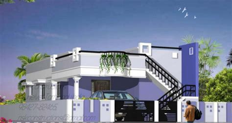 single floor house plans in tamilnadu home elevations tamil nadu style house elevation plan nanilumi
