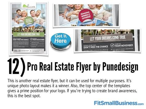 Top 25 Flyer Templates For Small Businesses Best Real Estate Templates