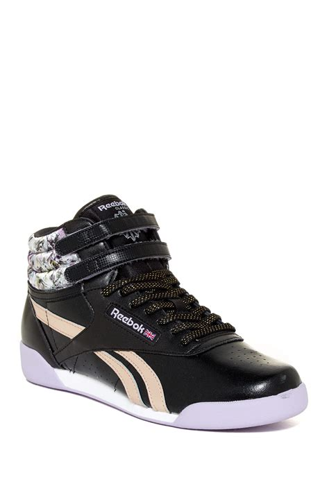reebok freestyle sneaker reebok freestyle hi squad sneaker big kid