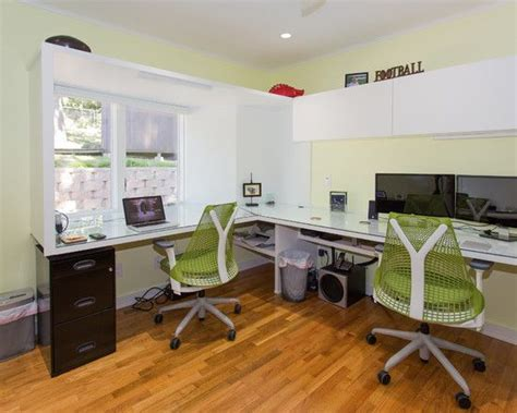 Home Office Layout With 2 Desks Magnificent Home Office Design For Two Magnificent