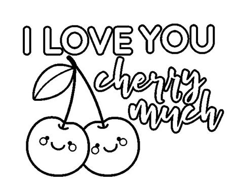 imágenes de i love you para dibujar dibujo de i love you cherry much para colorear dibujos net