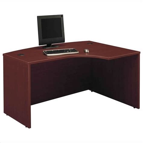 C Shaped Desk Bush Business Series C Mahogany U Shaped Desk Bsc054 367