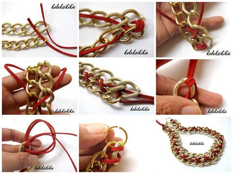 Gelang Manik2 Handmade membuat kalung retro koleksikikie