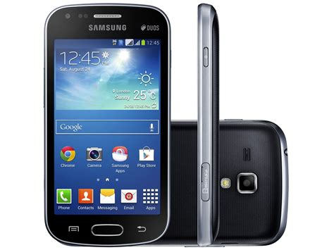Samsung 2 Duos smartphone samsung galaxy s duos 2 dual chip 3g android 4 2 c 226 m 5mp tela 4 quot proc dual wi