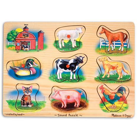 Animal Puzzle farm sound puzzle from and doug wwsm