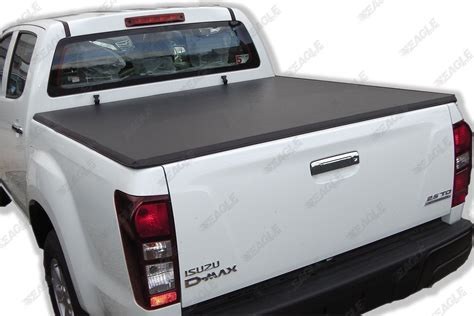 folding bed cover isuzu dmax 2012on soft tonneau cover eagle1 soft folding