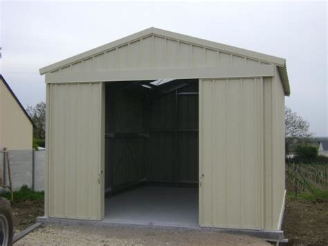 Garage Metallique En Kit 40m2 4108 by Hangar Temporaire Longue Duree Demontable Contact