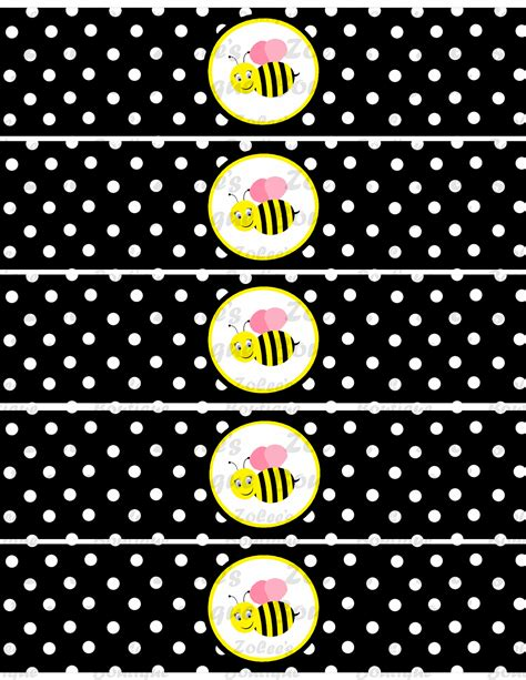 Original Reg A Free Used Bee bumble bee theme black printable package 183 designer 183 store powered