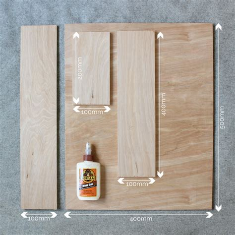 diy plywood bedside shelves with gorilla glue growing spaces