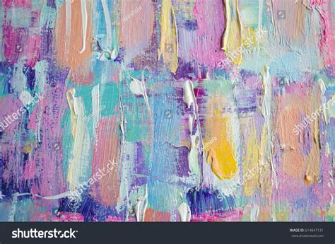 acrylic paint on canvas background acrylic painting abstract stock