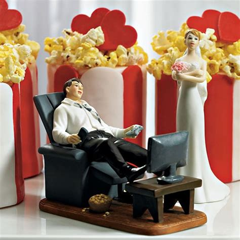couch potato canada quot couch potato quot groom figurine the knot shop