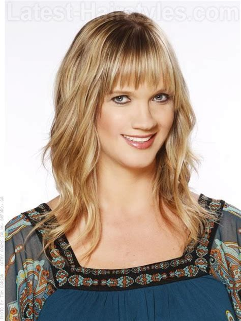pictures of wispy medium length fringes 1000 images about 2014 hairstyles for all seasons on