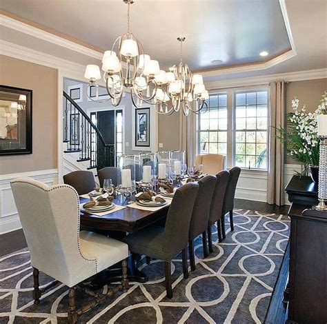 dining rooms ideas beautiful dining room chandelier ideas