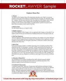 Bonus Agreement Template Search Results For Bonus To Employee Sample Letter