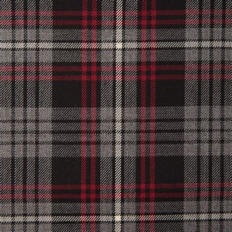 grey tartan upholstery fabric auld lang syne grey lightweight tartan fabric by the metre
