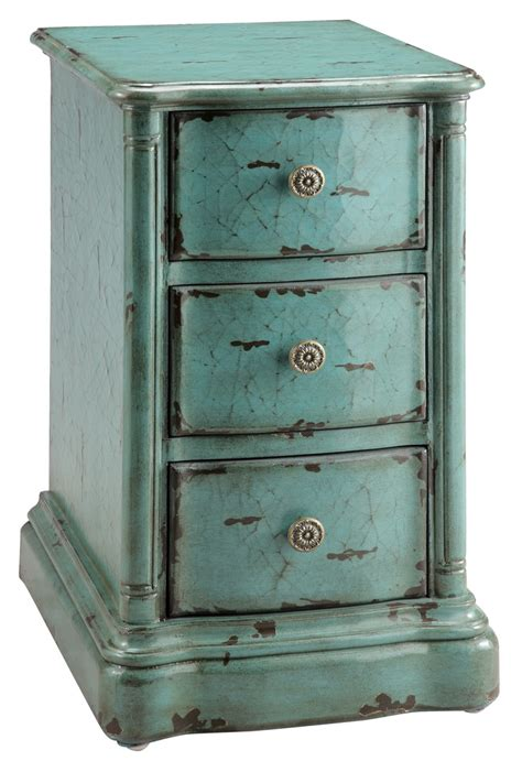 Painted End Tables by Painted Treasures End Table
